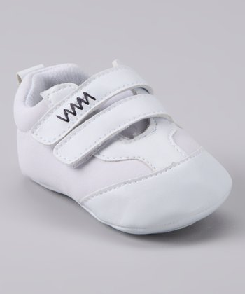 White Double-Strap Shoe