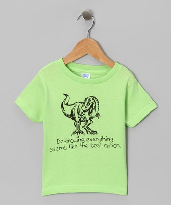 Key Lime 'Destroying Everything' Tee - Toddler & Boys