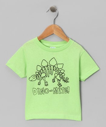 Key Lime 'Dino-Mite' Tee - Toddler & Boys