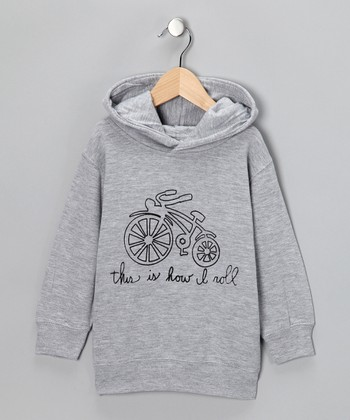 Gray 'How I Roll' Hoodie - Toddler & Boys
