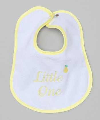 Yellow 'Little One' Bib