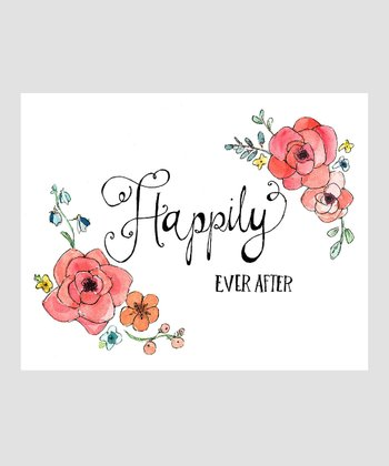 Wildflower 'Happily Ever After' Archival Print
