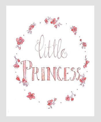 Pink 'Little Princess' Archival Print