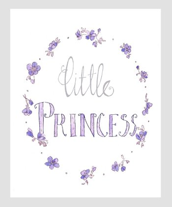 Lavender 'Little Princess' Archival Print