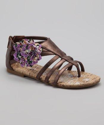 Bronze Finley Sandal