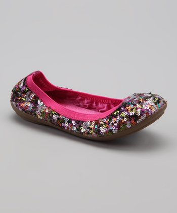 Hot Pink Jennifer Flat