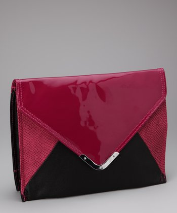 Black & Berry Clutch