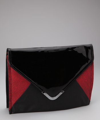 Black & Red Clutch