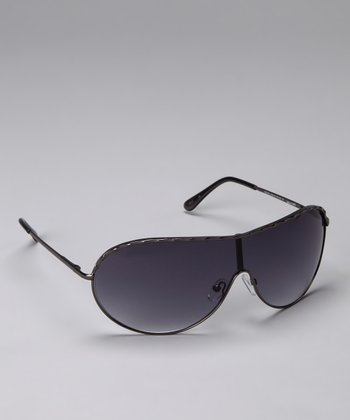 Gray Shield Sunglasses