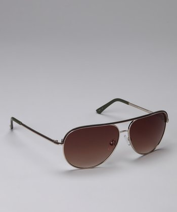 Rose Wire-Frame Sunglasses