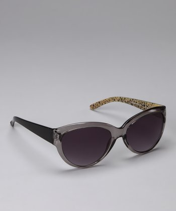 Black Leopard Sunglasses