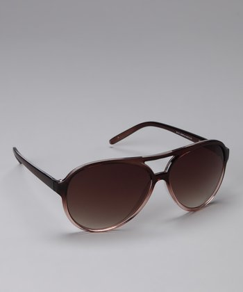 Brown Ombré Sunglasses
