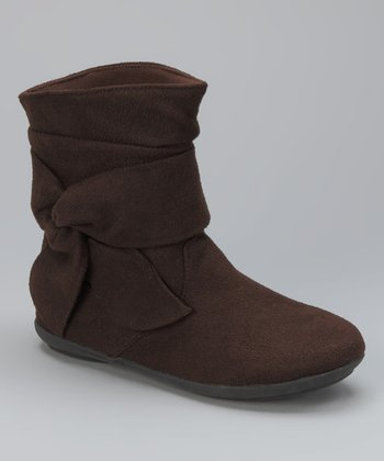 Brown Twist Boot