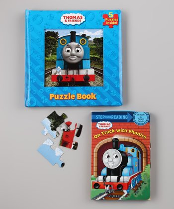 Puzzle Book & On Track with Phonics Book Set