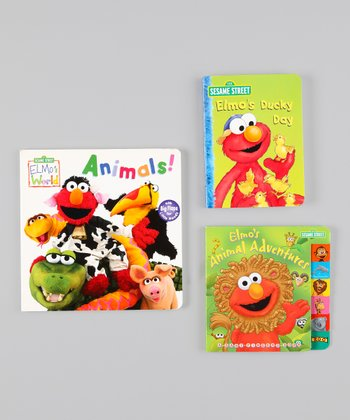 Elmo's World Board Book Set