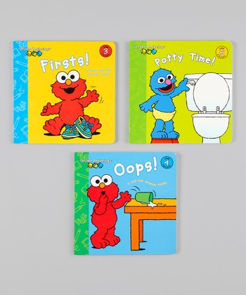 Sesame Beginnings Board Book Set