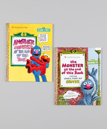 Monster at the End of this Book & Another Monster Hardcover Set
