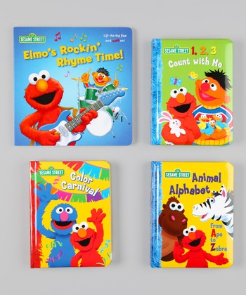 Elmo Concepts Board Book Set