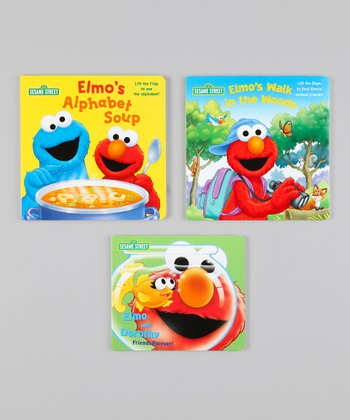 Elmo Board Book Set