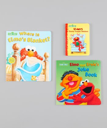 Elmo Jokes & Tongue Twisters Board Book Set