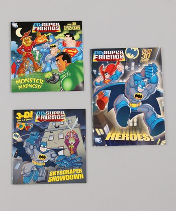 DC Super Friends Monster Madness Paperback Set