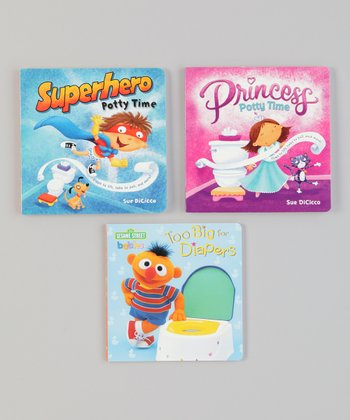 Princesses & Heroes Board Book Set