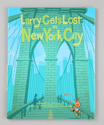 Larry Gets Lost in New York City Hardcover