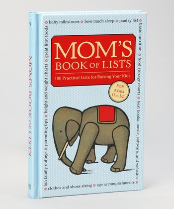 Mom's Book of Lists Hardcover