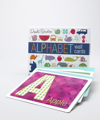 DwellStudio Alphabet Wall Card Set
