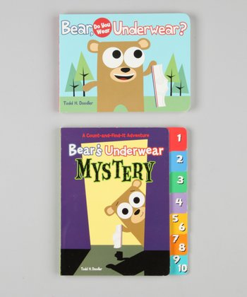 Bear in Underwear Board Book Set