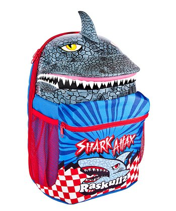Raskullz Gray Shark Attax Backpack