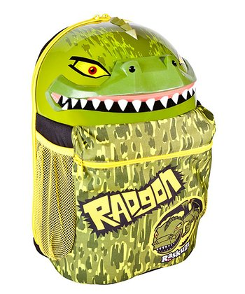 Raskullz Green Radgon Backpack