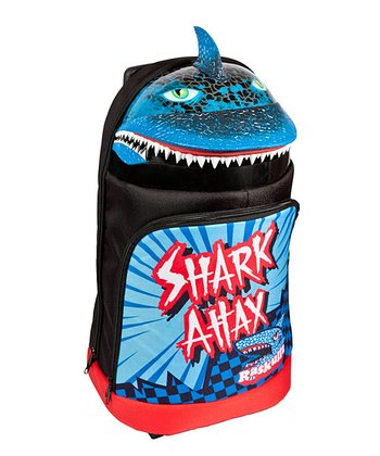 Raskullz Black Shark Attax Rolling Backpack