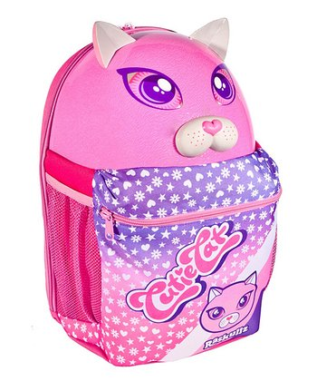 Raskullz Pink Cutie Cat Backpack