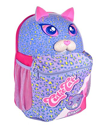 Raskullz Purple Cutie Cat Backpack