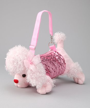Light Pink Puppy Purse