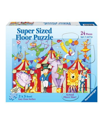 Day at the Circus Floor Puzzle