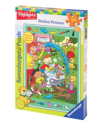Highlights Dog Wash Puzzle