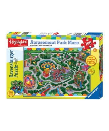 Highlights Amusement Park Maze Puzzle
