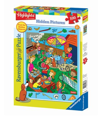 Backyard Barbecue Puzzle