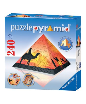 Sunset in the Desert Puzzle