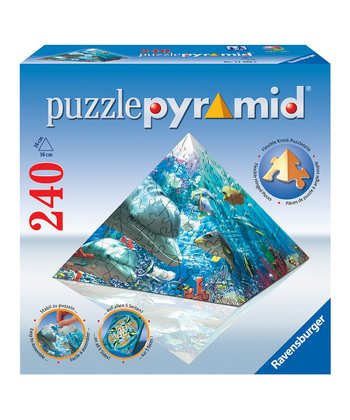 Spirit of the Sea 3-D Pyramid Puzzle