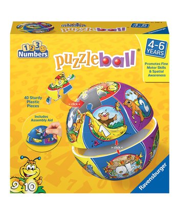 Numbers Puzzleball