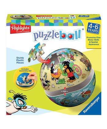 Highlights Land & Sea Puzzleball Spherical 3-D Puzzle