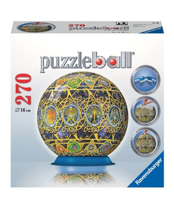 Zodiac Puzzleball Spherical 3-D Puzzle