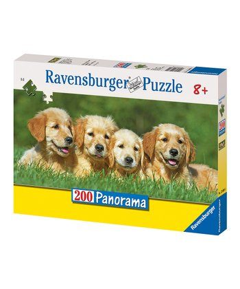 Golden Puppies Puzzle