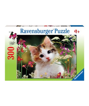 Flowery Kitty Puzzle