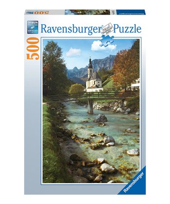Ramsau Church in Germany Puzzle