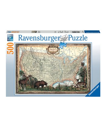 Old-Fashioned America Puzzle