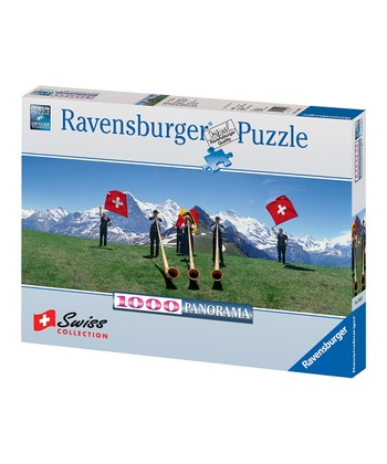 Swiss Flag Wavers Puzzle
